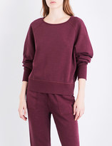 Rag & Bone Cropped cotton-jersey sweatshirt