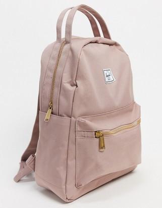 Herschel Nova small backpack in pink