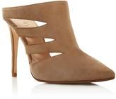 Raye Chloe Cutout High Heel Mules