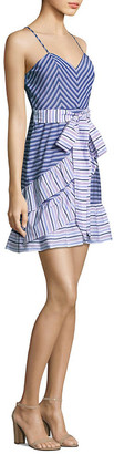 Parker Brooklyn Ruffle Wrap Dress
