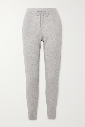 Le Kasha Kenya Cashmere Track Pants - Light gray