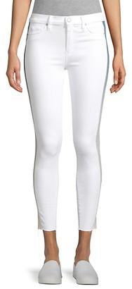 Hudson Barb High-Rise Racing Stripe Skinny Jeans
