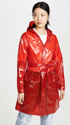 Rains Transparent Belt Rain Jacket