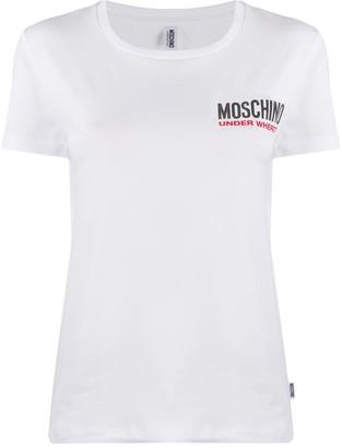 Moschino logo print lounge T-shirt