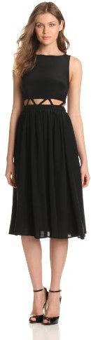 Mara Hoffman Women's Lattice Waist Dress