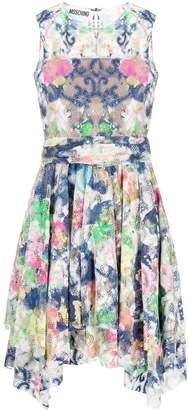 Moschino asymmetric short dress