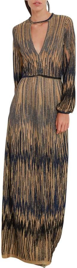 M Missoni Patterned Long Dress
