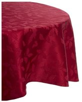 Lenox Holly Damask Tablecloth, 70-Inch Round