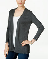 Karen Scott Three-Quarter-Sleeve Cardigan, Only at Macy's
