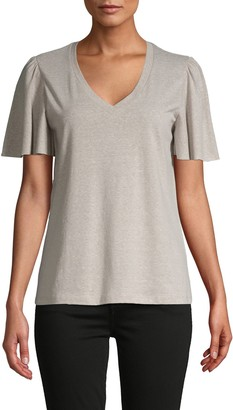 Supply & Demand Reece Flutter-Sleeve T-Shirt