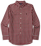 Ralph Lauren Boys' Plaid Twill Shirt - Sizes S-XL