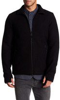 Bench Pat Ribbed Zip Sweater