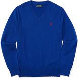 Ralph Lauren Elbow-Patch Cotton Sweater