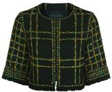 Andrew Gn Floral Tweed Cropped Jacket
