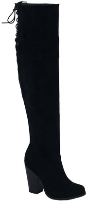 Chase & Chloe Max 2 Over The Knee Boot
