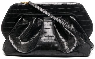 Themoire Bios crocodile-effect crossbody bag