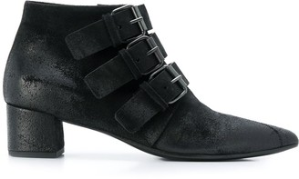Marsèll Triple Buckle Ankle Boots