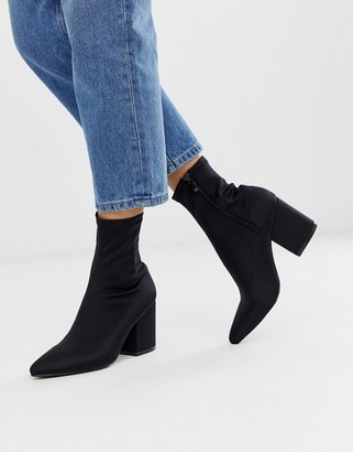 Raid Kinley pull on sock boots in black