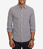 Nautica Long-Sleeve Plaid Pocket Shirt