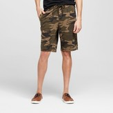 Mossimo Men's Jersey Knit Green Camo Athleisure Lounge Shorts
