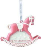 Wedgwood 2016 Baby's 1st Rocking Horse - Pink