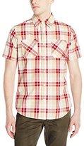 Akademiks Men's Dove Plaid Button-Front Shirt