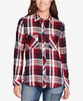 William Rast Carina Plaid Two-Pocket Shirt