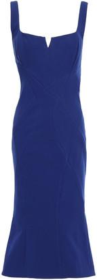 Rachel Gilbert Cutout Crepe Dress