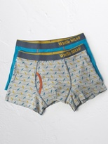 White Stuff Budgies boxer double pack