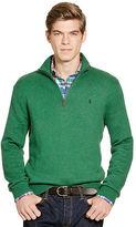Polo Ralph Lauren Cotton Half-Zip Sweater
