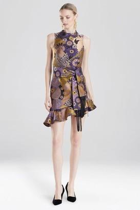 Natori Floral Patchwork Dress