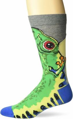 K. Bell Socks K. Bell Men's Novelty Wild Animals Crew Socks