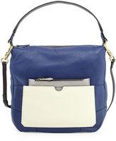 Oryany Adele Colorblock Shoulder Bag, Indigo/Multi