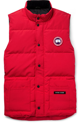 Canada Goose Slim-Fit Freestyle Crew Quilted Arctic Tech Down Gilet - Men - Red
