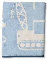 Kassatex Construction Towels Light Blue