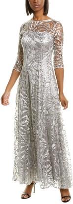 Tahari ASL Sequin Gown