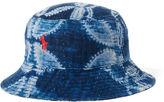 Ralph Lauren Patchwork Cotton Bucket Hat