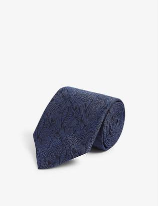 Corneliani Paisley-print silk tie