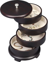 Asstd National Brand Java Swivel Jewelry Box
