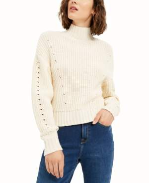 Bar III Becca Tilley x Ribbed Turtleneck Sweater, Created For Macy's