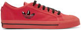 Raf Simons Red adidas Edition Matrix Spirit Sneakers