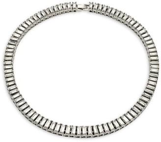 Fallon Cubic Zirconia Baguette Swag Collar Necklace