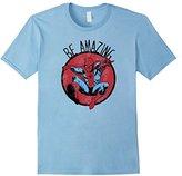Marvel Spider-Man Be Amazing Graphic T-Shirt