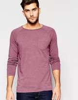 United Colors Of Benetton Long Sleeve Top With Front Pocket