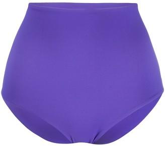 Fisico Hgih-Waisted Logo Bikini Bottoms