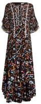 Peter Pilotto Kaleidoscope-print silk-crepe gown