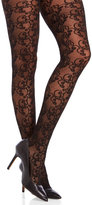Me Moi memoi Allover Swirl Sheer Tights