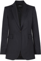 Joseph Laurent Wool-twill Blazer - Midnight blue