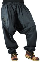 Bonzaai Virblatt Harem Pants Winter Unisex One Size Aladdin Pants - Extra Warm