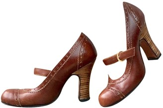 Vivienne Westwood Brown Leather Heels